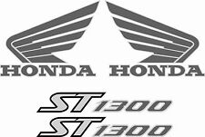 Hon Pan European ST1300 replacement Stickers Decals Fairing and Tank Graphics
