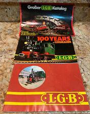 LGB CATALOG JOURNEL 1979 80 TRAINS NEW ITEMS CARS LOCOMOTIVES BOOK Plus