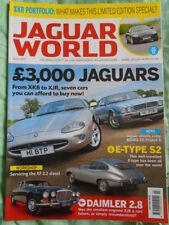Jaguar World Jul 2017 XKR Portfolio, Daimler 2.8, E Type S2
