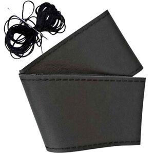 Coprivolante universale cucire pelle volante auto ago filo colore nero fai da te
