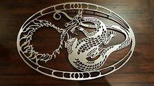Dragon Fretwork Art Wall Piece
