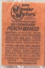 16- Wonder Wafers PEACH MANGO~ Scent~Amazingly Fresh~ Air Freshener Home Auto