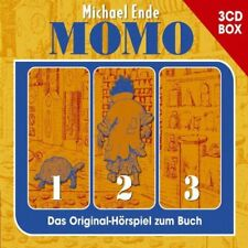 3 CDs * MOMO - MICHAEL ENDE - 3 CD-BOX  # NEU OVP !
