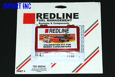 Redline Weber Carburetor Jet Pack Kit 32/36 DGAV, DGEV, DGV 4 Cyl.  701-DGV4