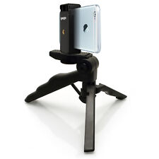 Pistol Grip Stabilizer Mini Table Top Stand Tripod + Universal Smartphone Holder