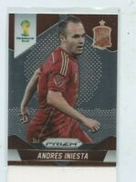 Andres Iniesta 2014 Panini Prizm World Cup Soccer  #177 SPAIN