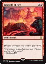 CRUCIBLE OF FIRE Commander 2017 MTG Red Enchantment Rare