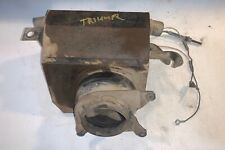 Tested & Working Smiths Heater Assembly w/ Motor & Fan off Triumph TR4A —- B—2