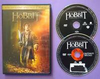 DVD Film Ita Fantasy LO HOBBIT La Desolazione Di Smaug ex nolo no vhs cd lp (T4)