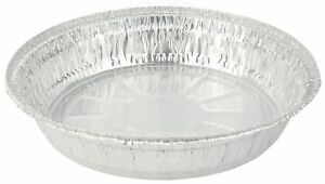 Foil Round Baking Pan Disposable 8 inch Aluminum - (Pack of 40 Pans)