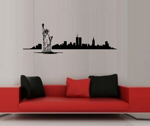 NYC #2 Detailed - Wall Decal