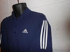 Vintage Adidas 3 Stripe Short Sleeve Polo Rugby Shirt XL