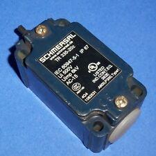 SCHMERSAL 500V 10A LIMIT SWITCH W/O HEAD, TR 335-20Z