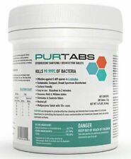 Purtabs Hospital viral disinfect 200 Ct 3.3g Tablets-virucide Protexus Victory