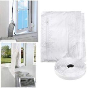 4m Window Seal Airlock Sealing Portable Mobile Air Condition Soft Baffle Nylon