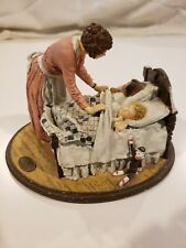 "Norman Rockwell Figurine ""Mother's Little Angels"" Ltd. Ed. Joys of Motherhood"
