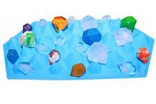 Silikonform Eiswürfelform Diamanten Edelsteine Ausstechformen Fondant Torten Neu