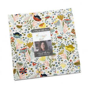 "Moda SONGBOOK Layer Cake 45520LC 42 10"" Quilt Fabric Squares Stephanie Sliwinksi"