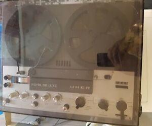 Uher Royal De Luxe Tonband / Bandmaschine  / Tonbandgerät / RAR