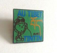 RARE 100 EX Pin's Tintin au TIbet  Expo 1994  PARFAIT ETAT  TDL 392