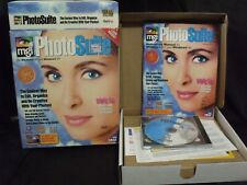 PhotoSuite version 1.0 MGI Software 1995 pc windows 95 & 3.1 photo editing cdrom