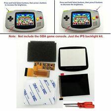 10 Level Brightness GBA V2 IPS LCD Mod Kit Backlight Game Boy Advance 101 USA!