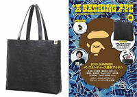 A Bathing Ape Bape Summer Collection Camo Leather Tote Bag