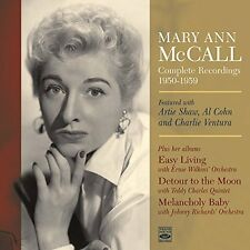 Mary Ann McCall  COMPLETE RECORDINGS 1950-1959 (3 LP + 11 TRACKS ON 2 CD)
