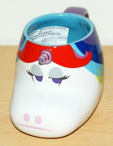 Official Disney Mug Rainbow Unicorn Inside Out Character 3D Coffee Cup Boxed