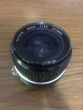 Nikon Nikkor 28mm f/2.0 Lens
