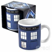 Doctor Who TARDIS MUG Blue Coffee Cup Tea Sign Official Licensed