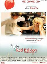 THE FLIGHT OF THE RED BALLOON Movie POSTER 27x40 B Juliette Binoche Fang Song
