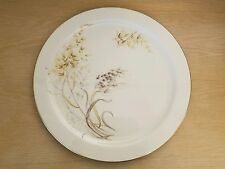 Lenox Ivory Porcelain Platter with Gold Trim Windy Scene Stunning MADE IN USA