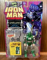 Whirlwind Vintage Iron Man Action Figure New 1995 Toybiz 90s Cartoon Marvel