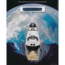 Space Shuttle STS 'Atlantis', 'FLOWN' Thermal Blanket Fragment, Certified COA's