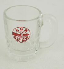 A&W Ice Cold Rootbeer Red Arrow Logo Anchor Hawking Miniature Mug (CB11)