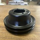 Mopar Plymouth Dodge HP crank pulley 383 440 2 groove Offset pattern 61/2x3 340