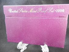1990 UNITED STATES 5-COIN PROOF SET ORIGINAL PACKAGING