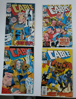 CABLE #1, 2 ,3, 4 Lot of 4 MARVEL COMICS 1993. CABLE DOMINO. FN/VF