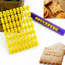Plastic Stamps DIY For Printing Clay Pottery Blocks Tools Letterpress Number