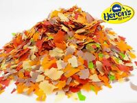 HERONS Premium Pond Flakes KOI COLDWATER FISH FOOD CARP GOLDFISH ORFE