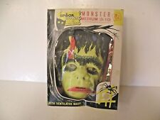 SPOOK TOWN BY BEN COOPER MONSTER COSTUME VENTILATED MASK 1970'S FIRE RETARD
