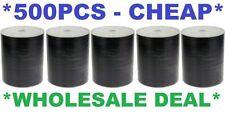 500 x DVD-R/DVDR Blank(5x 100) Disks/Discs 16X Burn White Matt InkJet Printable
