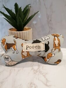 Personalised  dog bone/toy.  Birthday present.  fabric bone . With squeak