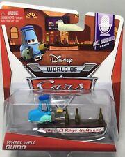 "2013 Mattel Disney Pixar CARS 2: ""WHEEL WELL GUIDO"" Mel Dorado Show Series #3/9"