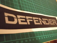Land Rover Defender 90 110 130 Bonnet Grill  Sticker