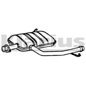 1x KLARIUS OE Quality Replacement Middle Silencer Exhaust For RENAULT Diesel
