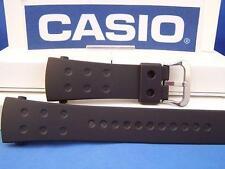 Casio Watch Band G-8000  Black Resin Strap G-Shock.Original Two-Piece Watchband