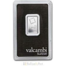 More details for valcambi 10 gram platinum bar minted