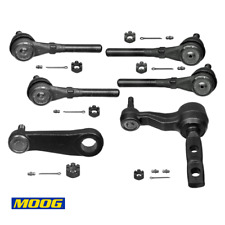 Front Steering Linkages Rods Inner Outer Idler For 4WD Ford F150 F250 Expedition